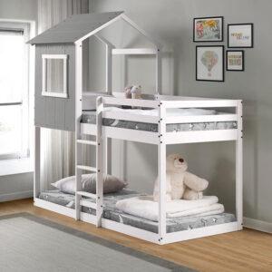 Tempat Tidur Tingkat Modern Frzz093