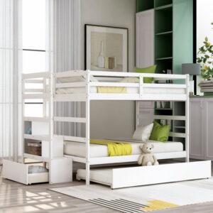 Tempat Tidur Tingkat Modern Frzz110