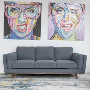 Sofa 3 Seater Retro Frzz296